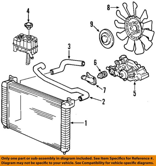 small resolution of details about gm oem engine cooling radiator fan clutch 20913877