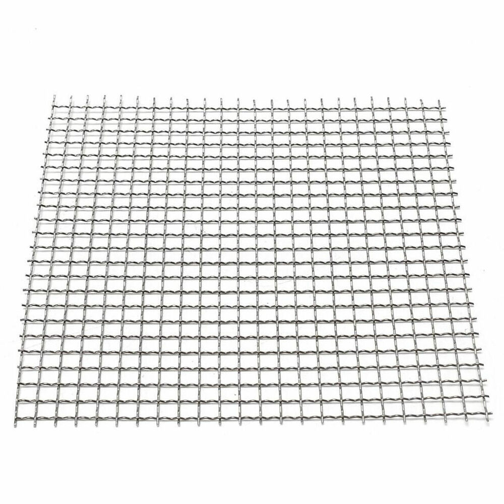 Stainless Steel Filtration Woven Wire Cloth Screen 4/20/40
