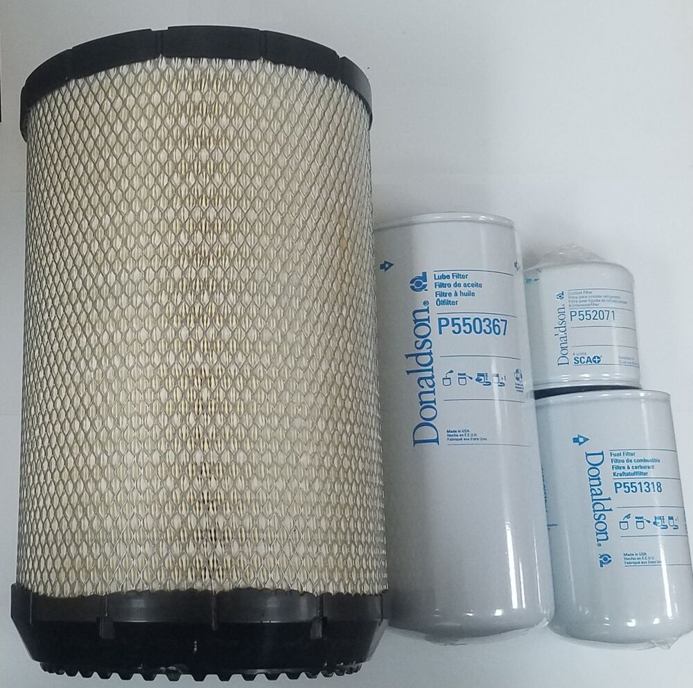 hight resolution of international dt466e donaldson filter kit lube fuel air coolant 724999926430 ebay