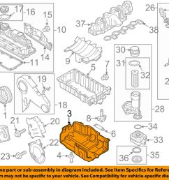 details about vw volkswagen oem 10 14 jetta engine parts cover 03l103660c [ 1000 x 798 Pixel ]