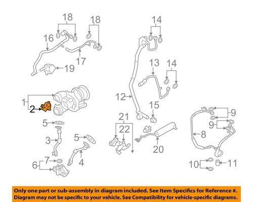 small resolution of details about bmw oem 10 13 x5 turbo turbocharger wastegate control solenoid valve 11657602293