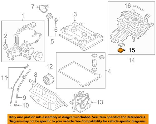 small resolution of details about bmw oem 14 17 i3 engine intake manifold gasket 11618535548