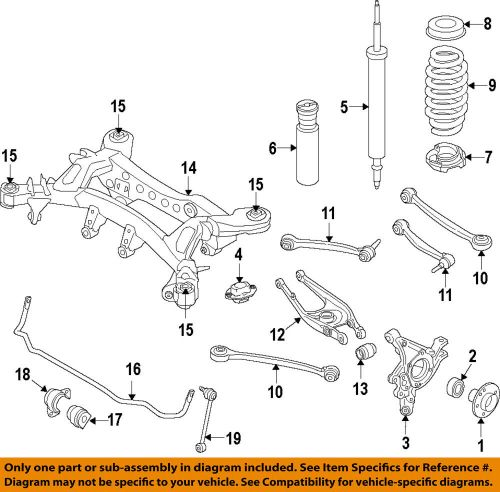 small resolution of details about bmw oem 15 18 m3 rear lower control arm 33322284533