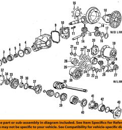 details about bmw oem 96 98 318i rear differential spring 33141207307 [ 1000 x 862 Pixel ]