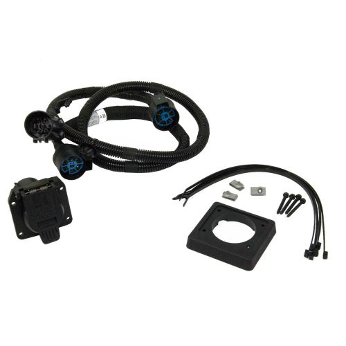 small resolution of details about new oem 17 19 ford super duty in bed trailer wiring gooseneck fifth wheel