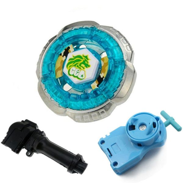 Rock Leone Bb30 Fusion Fight Beyblade Starter Pack Single Launcher Handle Kk