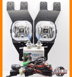 details about for 01 02 03 04 ford excursion clear fog lights kit wiring switch perde h10 [ 1000 x 1000 Pixel ]