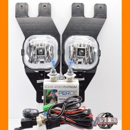 small resolution of details about for 01 02 03 04 ford excursion clear fog lights kit wiring switch perde h10