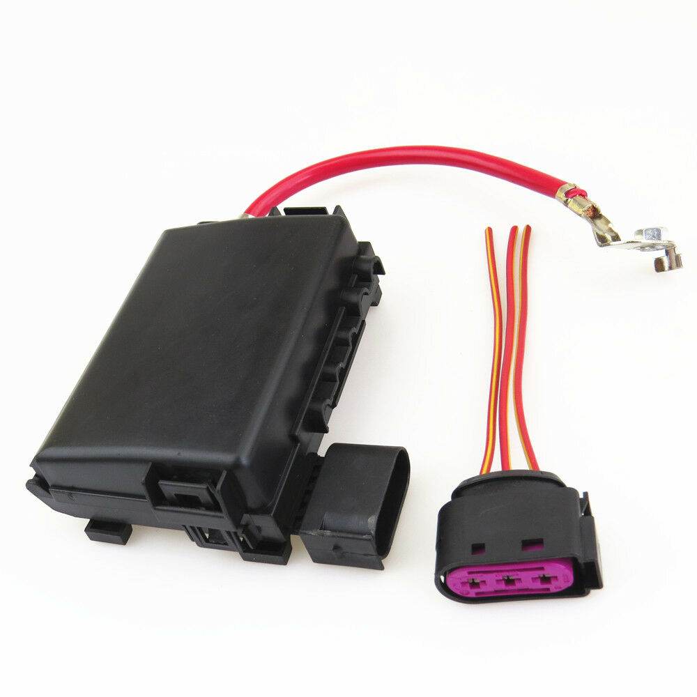 hight resolution of details about battery fuse box assembly cable plug adapter for vw golf jetta mk4 bora beetle