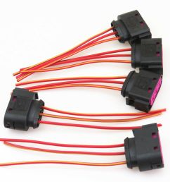 details about qty 5 fuse box assembly cable harness plug for seat leon vw golf bora jetta mk4 [ 1000 x 1000 Pixel ]