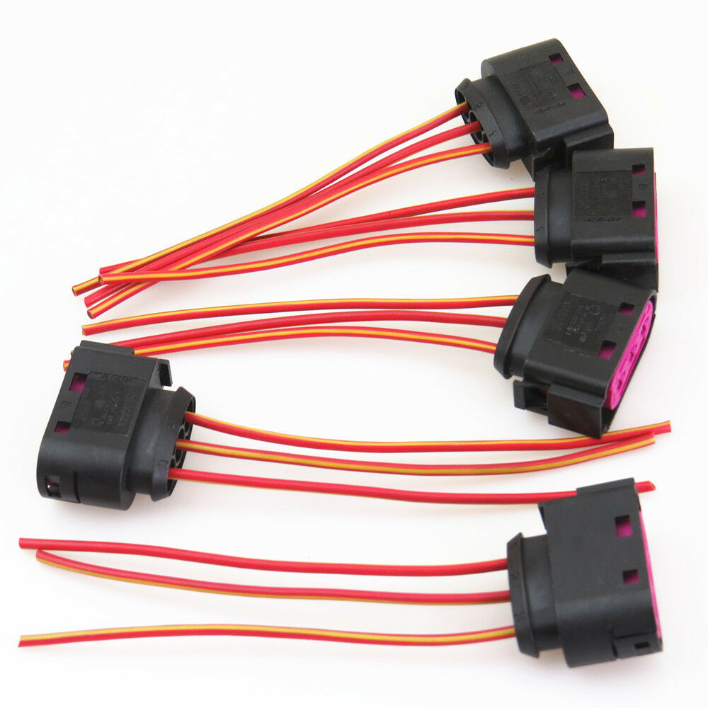 medium resolution of details about qty 5 fuse box assembly cable harness plug for seat leon vw golf bora jetta mk4
