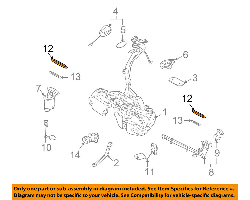 hight resolution of details about mercedes oem 10 16 e350 3 5l v6 fuel system retainer ring 0014711430