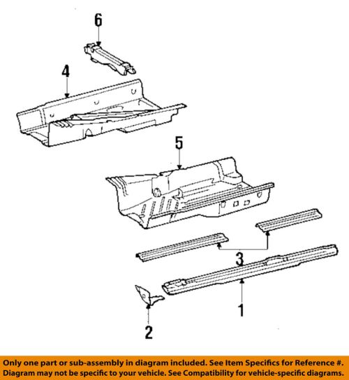 small resolution of details about mercedes oem 300d exterior rocker panel reinforcement plate left 1236370180