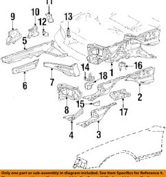 details about mercedes oem 86 93 300e fender support brace left 1246200328 [ 898 x 1000 Pixel ]