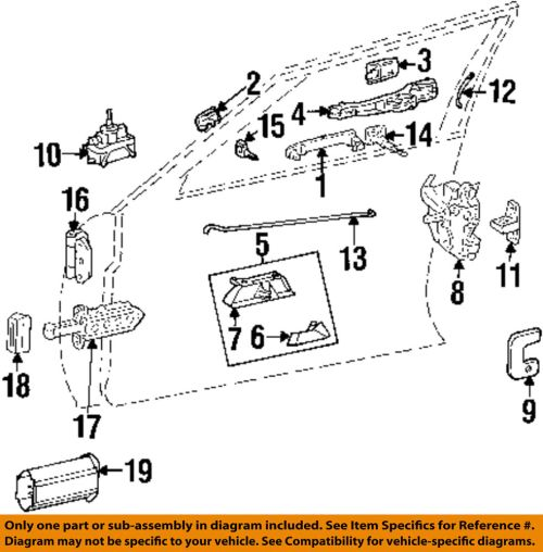 small resolution of details about mercedes oem 86 93 300e door lock kit right 1247202435