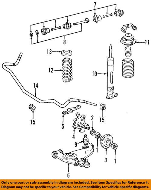 small resolution of details about mercedes mercedes benz oem 94 02 sl500 stabilizer sway bar front bar 1293232265