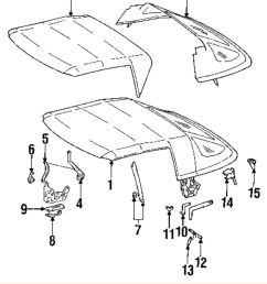 details about mercedes oem 92 93 300sl convertible soft top guide left 1297702941 [ 832 x 1000 Pixel ]