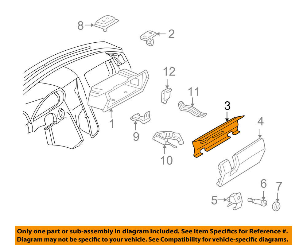 hight resolution of details about mercedes mercedes benz oem 94 95 c220 glove compartment box door 2026801098