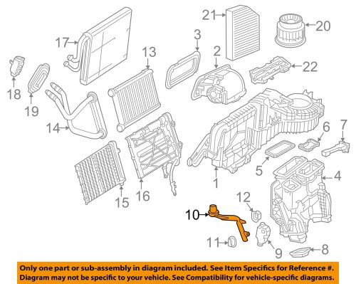 small resolution of details about mercedes oem 17 18 glc300 2 0l l4 a c ac evaporator heater drain hose 2058320200