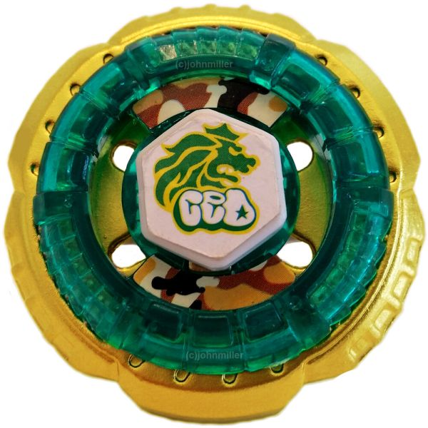 Limited Edition Gold Rock Leone Bb-30- Wbba Beyblade - Usa Seller 700118808986