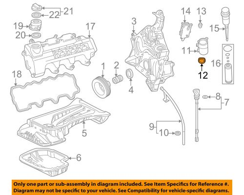 small resolution of details about genuine oem mercedes benz engine oil filter housing seal gasket 112 184 00 61