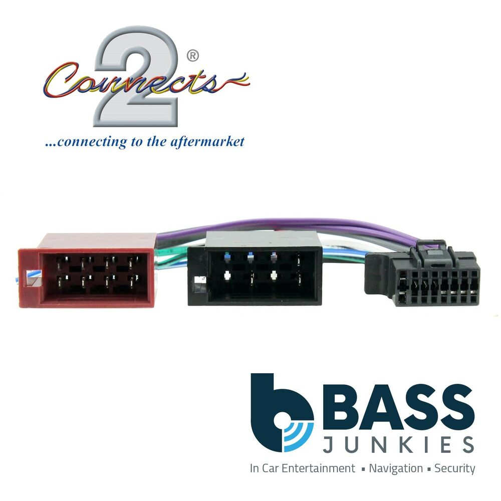 hight resolution of details about sony 16 pin iso head unit replacement car stereo wiring harness cdx series