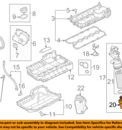 details about vw volkswagen oem 08 14 jetta engine parts cap 07k115408 [ 1000 x 798 Pixel ]
