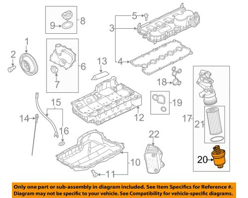 small resolution of details about vw volkswagen oem 08 14 jetta engine parts cap 07k115408