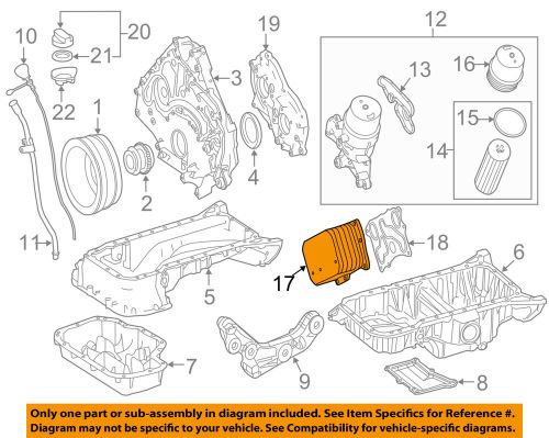 small resolution of details about mercedes oem 12 18 cls550 engine oil cooler 2781880401