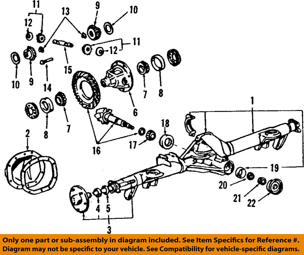 medium resolution of details about ford oem 08 10 f 250 super duty rear differential lock pin e5tz4241b