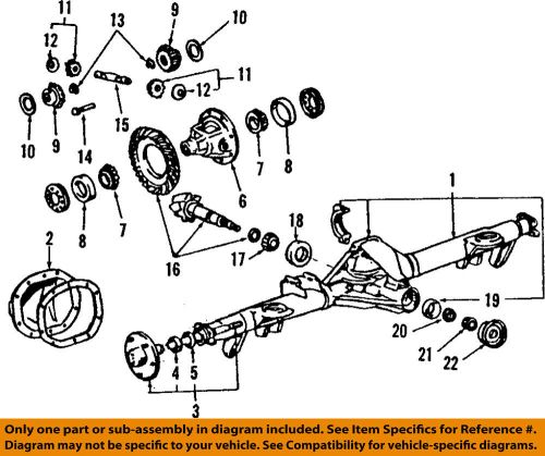 small resolution of details about ford oem 08 10 f 250 super duty rear differential lock pin e5tz4241b