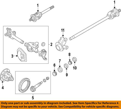 small resolution of details about ford oem 17 18 f 350 super duty front differential pinion seal hc3z4l616a