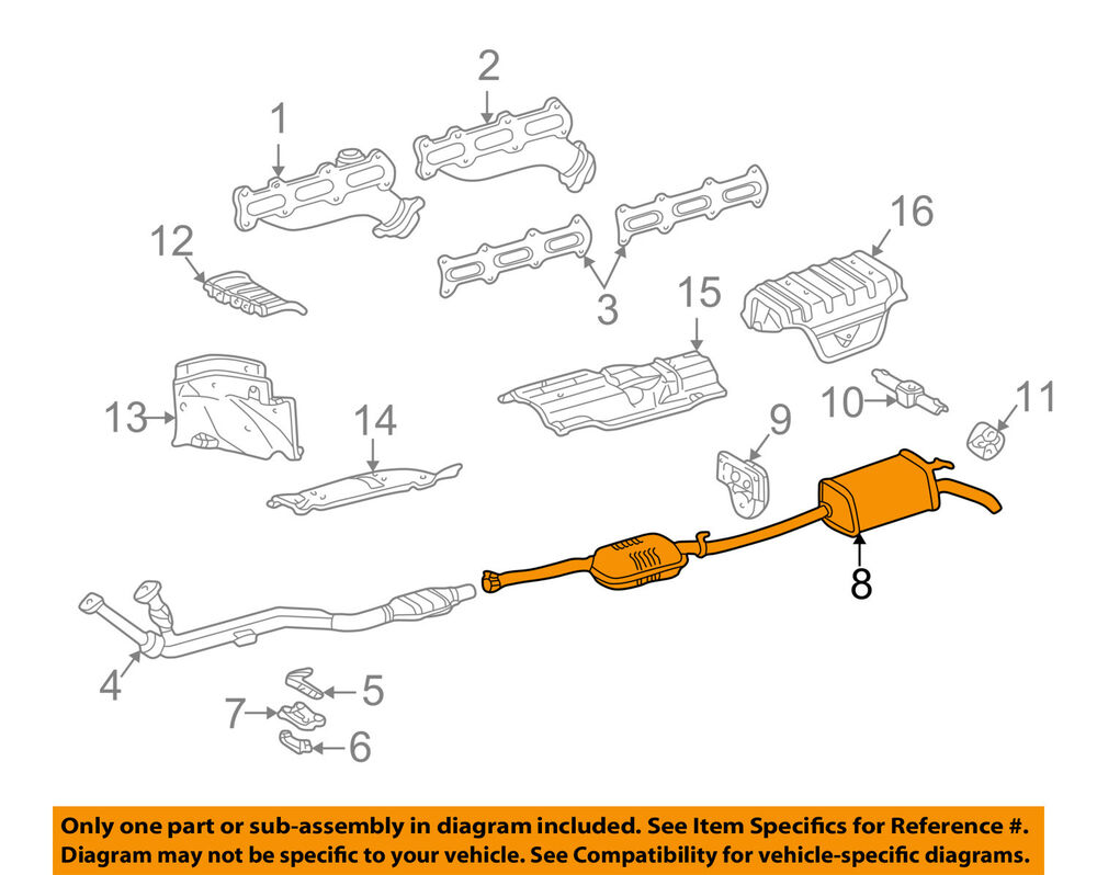 hight resolution of details about genuine oem mercedes benz diesel e300 e320 exhaust muffler pipe 210 490 25 21