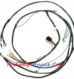 details about chevy pickup truck suburban 56 57 58 59 v8 engine wiring harness [ 1000 x 974 Pixel ]