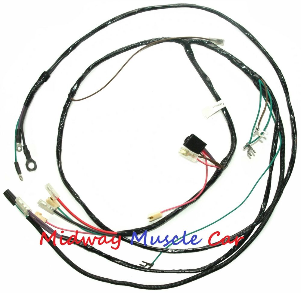 medium resolution of details about chevy pickup truck suburban 56 57 58 59 v8 engine wiring harness