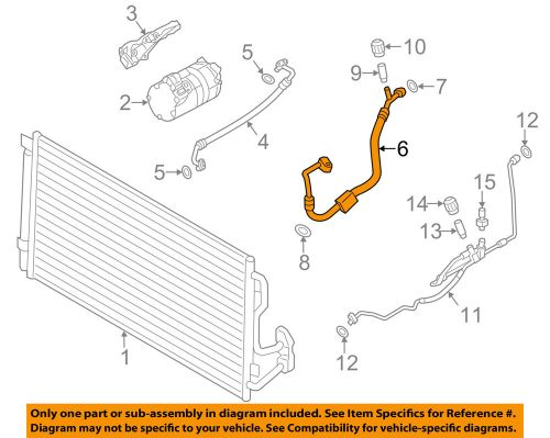 small resolution of details about bmw oem 2015 m3 a c ac hose line pipe 64539321309