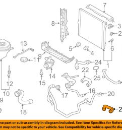 details about bmw oem 14 16 x5 radiator coolant lower hose 17127576368 [ 1000 x 798 Pixel ]