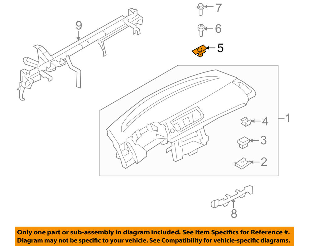hight resolution of details about bmw oem 08 13 128i instrument panel dash instrument panel clamp 51457116152