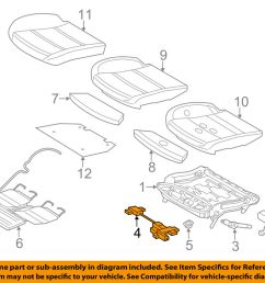 details about bmw oem 06 10 550i power seat track motor 52107068045 [ 1000 x 798 Pixel ]
