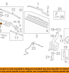 details about honda oem wiper windshield linkage assembly bushing 76516sr3003 [ 1000 x 798 Pixel ]