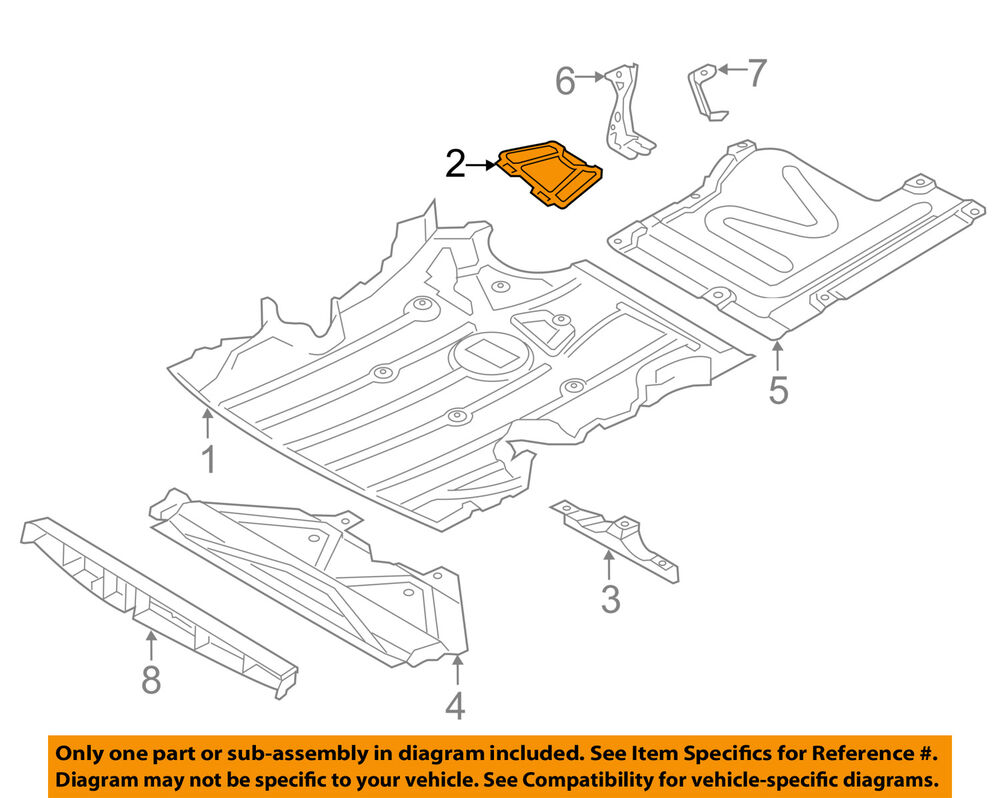 hight resolution of details about bmw oem 07 13 328i splash shield under cover cover 51757140983