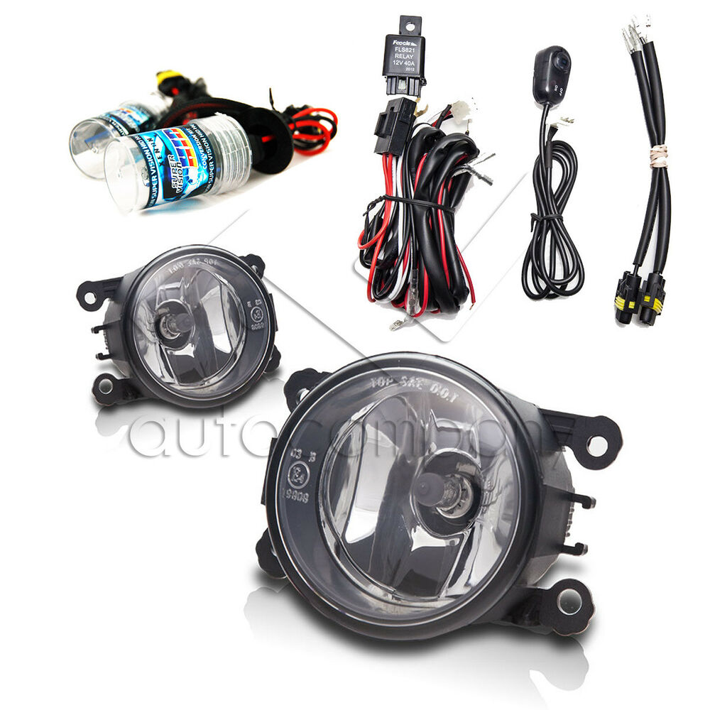 hight resolution of details about for 2006 2008 mitsubishi endeavor fog lights w wiring kit hid kit clear