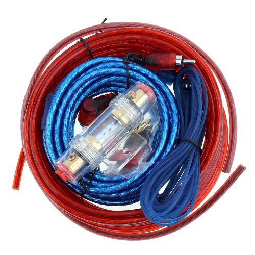 small resolution of details about 1500w car amplifier wiring kit audio subwoofer amp rca power cable agu fuse set