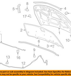 details about 2012 2016 chevy cruze hood latch new gm 42522220 [ 1000 x 798 Pixel ]