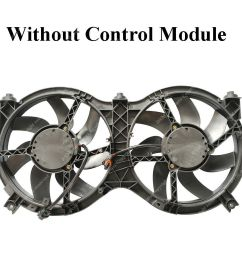details about radiator a c condenser cooling fan for pathfinder 13 18 infiniti qx60 ni3115149 [ 1000 x 1000 Pixel ]