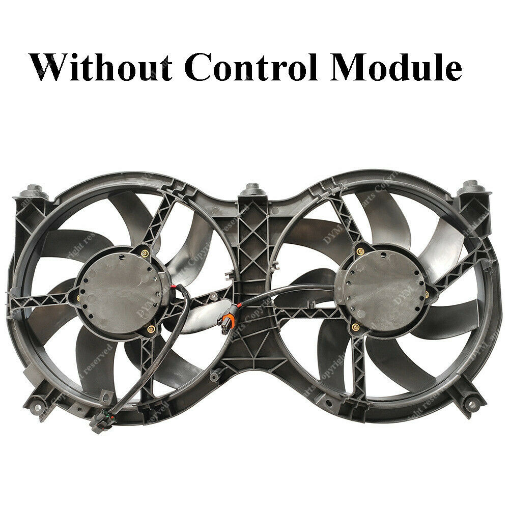 hight resolution of details about radiator a c condenser cooling fan for pathfinder 13 18 infiniti qx60 ni3115149
