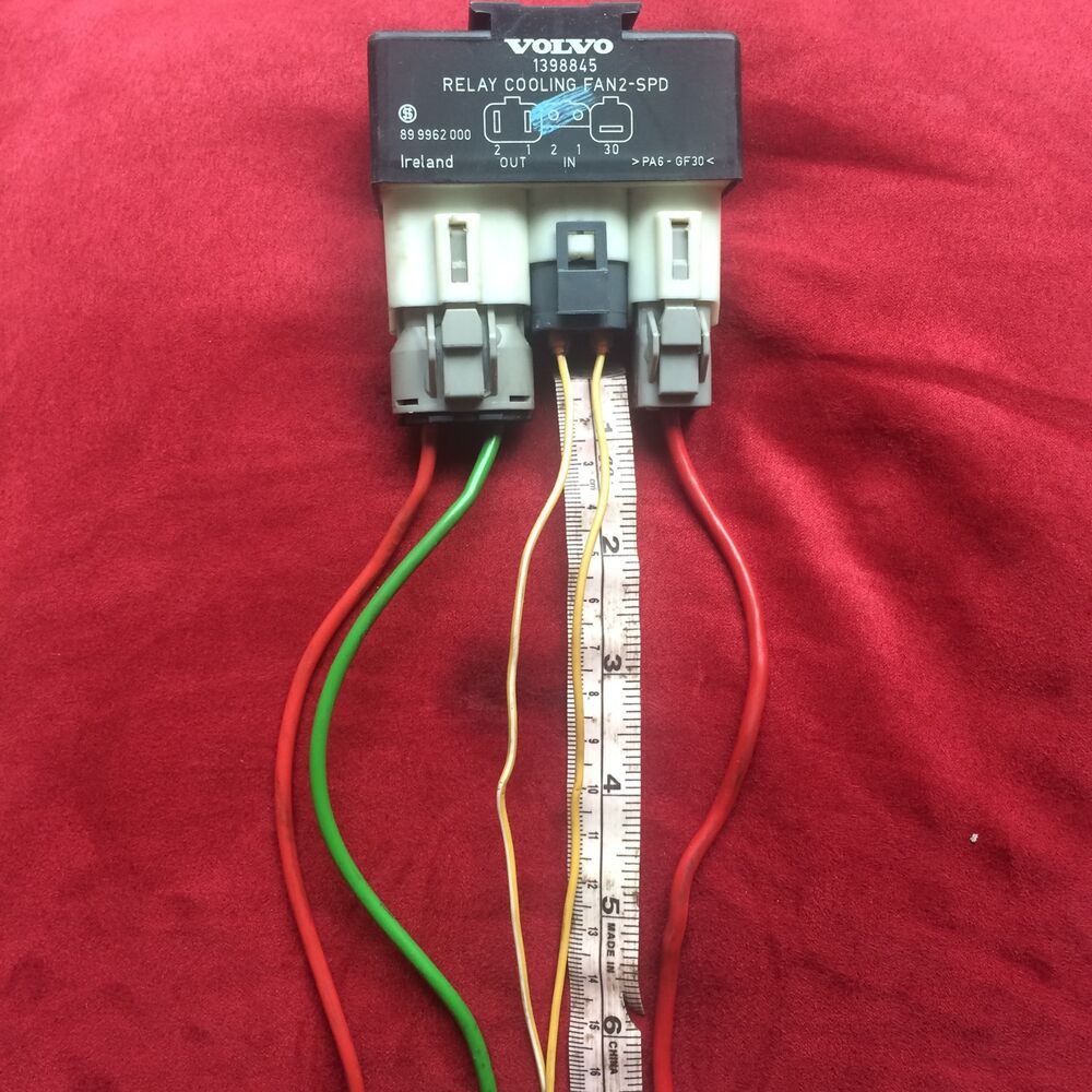 medium resolution of details about volvo fan relay 12 to 24 wires hotrod truck 4x4 electric swap 2 speed hot rod