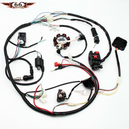 small resolution of details about complete electrics atv quad 200 250 300cc cdi coil wiring harness zongshen lifan