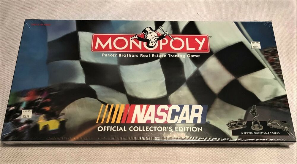 NASCAR MONOPOLY OFFICIAL COLLECTOR'S EDITION NEW BOARD GAME | eBay