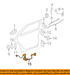 cadillac gm oem 06 07 dts interior rear door wire harness left cadillac limousine wiring diagram [ 1000 x 798 Pixel ]